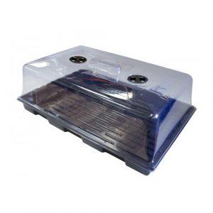 invernadero plástico blando para esquejes