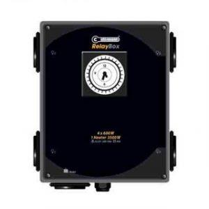 temporizador 4 x 600 watt y calefactor