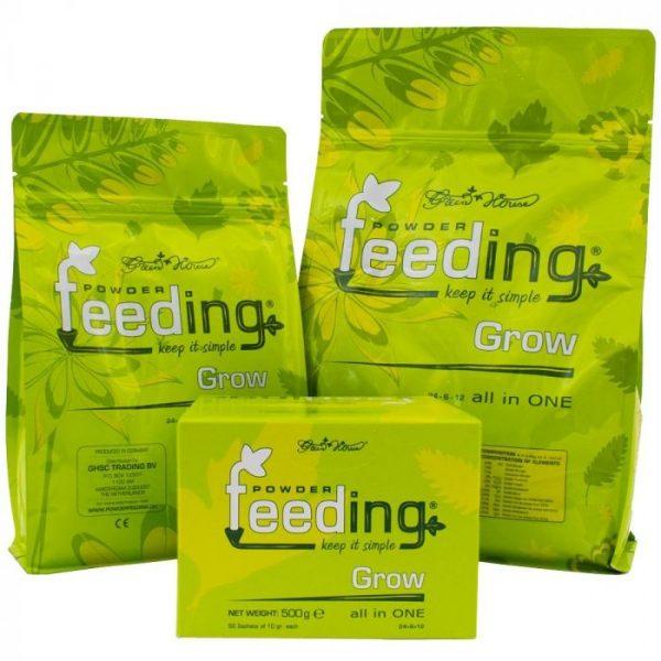 Grow Green House Powder Feeding
