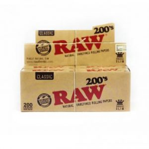 papel raw 200s king size slim